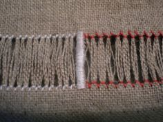 ponto ajour / hem stitch 6