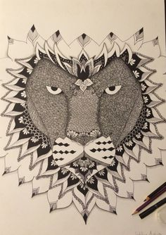 Pencil draw. #lovedrawing #liondraw ❤️❤️