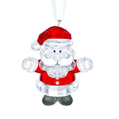 Swarovski Crystal Santa Claus Ornament >>> Click on the image for additional details. (This is an affiliate link) #CozyHomeDecor