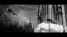 The BBC Winter Olympics Titles 2010.   The sequence follows a legendary quest by an Inuit hero who has to draw on all his skills to restore light and peace to his dark and troubled world.   BAFTA for Best TV Titles 2010 DAD Yellow Pencil for Film Advertising 20  Commissioned by BBC / Red Bee Media Agency: RKCR/YR Director  Designer Marc Craste Co-Designer Jon Klassen