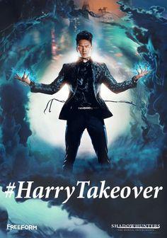 #shadowhuntersTV #Shadowhunters #TMI   #HarryTakeover gif   October 11th!   #TuesdayTakeover