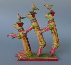 3 Dogs attributed to Heriberto Castillo