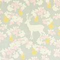 Apple Garden Grey Wallpaper by Majvillan | Nubie