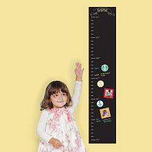 Pearhead Chalkboard Growth Chart - English