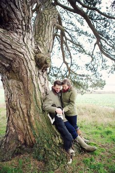 Grovely Woods Wilton woodland engagement shoot by Lydia Stamps Photography