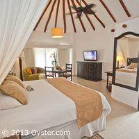Our room! The Individual Casita Suite at the El Dorado Casitas Royale
