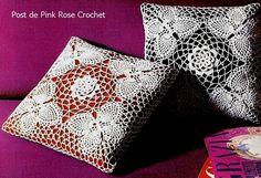 \ PINK ROSE CROCHET /: Farfalla