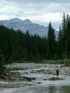 Fly Fishing the Big Horn River in Alberta by Philip Rispin, via 500px