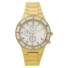 Round Mother Of Pearl Dial Case Gold Finish Bracelet Watch. Debating whether or not to buy this from target