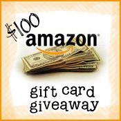 July $100 Amazon Gift Card {Giveaway}