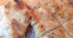 Τυρόπιτα σπιτική κάπως αλλιώς... με φύλλα ανοιγμένα στο χέρι χωρίς πλάστη, σαν μπουγάτσα!   Η τυρόπιτα της Κυριακής αγαπημένη της... Greek Desserts, Greek Recipes, Health Diet, Banana Bread, Recipies, Cheese, Cooking, Ethnic Recipes, Sweet