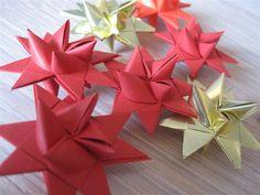 Weaved Christmas Stars