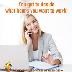 Become your own BOSS by running an easy-to-run #Internetbusiness…FREE presentation shows you how easily you can start today!  CLICK HERE: http://www.preloadedwebsites.com