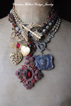 """valentine's day? Christine Wallace... """"Honoring Life Through Jewelry"""": Hommage Du L'amour"""