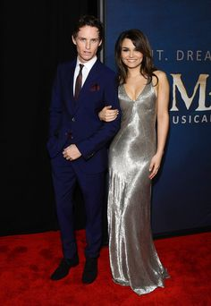 Eddie Redmayne and Samantha Barks NY Premiere of Les Miserables. Eponine and Marius should be together.