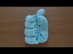 How to Make a Towel Heart おしぼりハートのつくり方