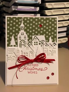 Boxed Christmas Cards, Xmas Cards, Stampin Up Christmas 2018, Stampin Up Weihnachten, Stamping Up Cards, Marianne Design, Winter Cards, Card Sketches, Homemade Cards