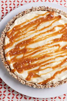 White Chocolate Salted Caramel Tart – It takes less than a teaspoon of sea salt to bring out the sweetness of this swoon-worthy white chocolate and caramel tart dessert recipe. Plus, we love the idea of serving up this homemade treat on your Thanksgiving holiday table.