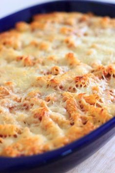 This baked ziti will quickly become a family favorite. Easy comfort food that you can make ahead or freeze for later! This vegetarian baked ziti will quickly become a family favorite. Easy comfort food that you can make ahead or freeze for later! Baked Ziti Vegetarian, Vegetarian Casserole, Vegetarian Comfort Food, Casserole Recipes, Vegetarian Recipes, Beef Casserole, Comfort Foods, Easy Baked Ziti, Al Dente