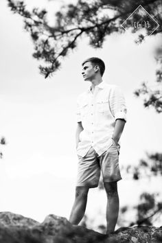 Senior Picture Ideas for Guys | Bedford Senior Photos | Bedford, Virginia Senior Photography