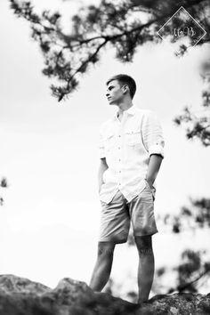 Senior Picture Ideas for Guys | Bedford Senior Photos | Bedford, Virginia Senior Photography