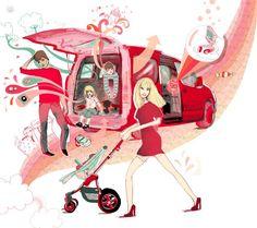 Anne Cresci - Illustration