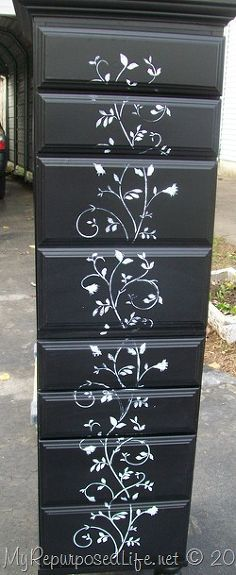 repurposed desk into chest, home decor, painted furniture, repurposing upcycling Business Furniture, Home Office Furniture, Home Office Decor, Kitchen Furniture, Refurbished Furniture, Cheap Furniture, Painted Furniture, Furniture Ideas, Furniture Handles