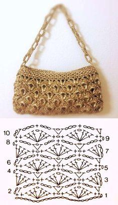 e lucre: 26 modelos de bolsa de com Inspire-se: bolsa de com Bolsas para festas, para praia, para trabalhar. As atuais bolsas em fio de malha. Escolha a sua e Sie Grafikdesign häkeln Free Crochet Bag, Crochet Tote, Crochet Handbags, Crochet Purses, Knit Crochet, Crochet Bag Tutorials, Crochet Purse Patterns, Crochet Videos, Bag Pattern Free