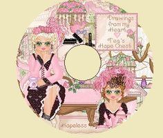 Hopelessly Romantic CD.. This CD has 300 tube graphics, Pixel drawn by me . Victorian ladies. settings for a Tea Party. Great Buy~~  www.teahopechest....