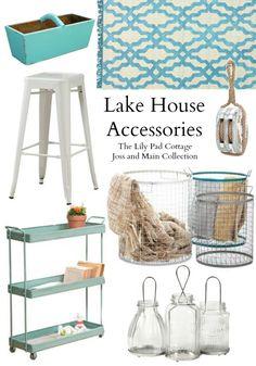Lake House Living Inspiration - The Lilypad Cottage