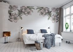 #wallpaper - Springtime Double - rebelwalls.com