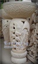 Sandstone Lamps from Canada - StoneContact.com Natural Stone Veneer, Natural Stones, Types Of Saws, Gate Post, Outdoor Gazebos, Indian Artifacts, Stone Carving, Picture Sizes, Mailbox