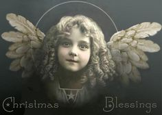 This angel looks just like my granddaughter, Ireland.