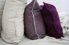 Flocca cushion covers