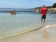 Giovanni uno dei nostri bagnini di fiducia...  Giovanni lifeguard on the beach.