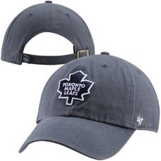 '47 Brand Toronto Maple Leafs Clean Up Adjustable Hat - Navy Blue