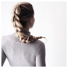 faux braid | hair