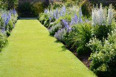 Herbaceous Borders:: Levens Hall - Historic Hall and Gardens, The Lake District, Cumbria Love Garden, Dream Garden, Lawn And Garden, Edging Plants, Herbaceous Border, Lawn Edging, Garden Landscape Design, Garden Borders, Garden Cottage