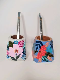 Bussines Ideas, Decoupage, Diy And Crafts, Pattern, Gifts, Color, Vases, Decorated Flower Pots, Trays