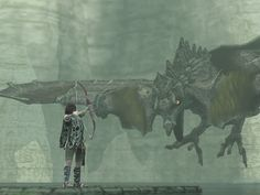 "Shadow of the Colossus! -     Strike a deal with the ""Devil""...  Slay sixteen mystical giants...  Bring the girl back to life, - Or Die Trying!!!"