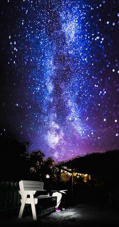 Tilt Shift Milky Way