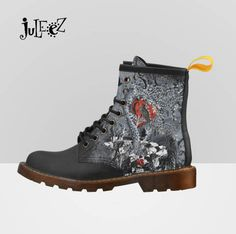 Now trending: Ladies Fashion Boots, Dr. Marten Style Boots, Hiking Boots, Trendy Print Boots, Raven Heart Boots by Juleez https://www.etsy.com/listing/551888073/ladies-fashion-boots-dr-marten-style?utm_campaign=crowdfire&utm_content=crowdfire&utm_medium=social&utm_source=pinterest