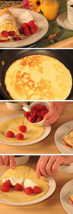 German Pancakes | Easy Mothers Day Breakfast in Bed Ideas | Homemade Brunch Ideas for a Crowd