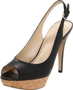 $89.00-$89.00 Nine West Women's Bigspender Slingback Sandal,Black Leather,8 M US -  http://www.amazon.com/dp/B005URG00C/?tag=icypnt-20
