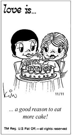 Love+Is+Cartoons+by+Kim | 44 Amazing 'Love Is' Comics by Kim Grove