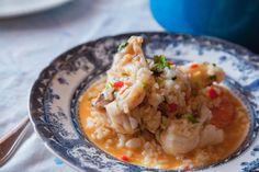Arroz de tamboril | Monk fish rice