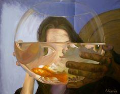 Deformación II Técnica: Acrílico sobre lienzo Medidas: 146 x 114 cm. Año: 2009