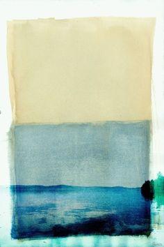 Parvez Taj Bondi Lake UV Ink Canvas Artwork, 18 by 12-Inch Parvez Taj