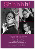 Surprise Birthday Invitations & Adult Birthday Invitations | Shutterfly $0.55