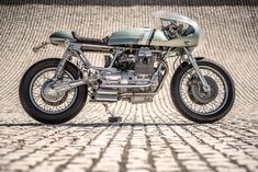 Moto Guzzi Nevada cafe racer by Rua Machines
